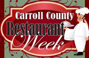 2018 Carroll County Restaurant Week @ Various Restaurants